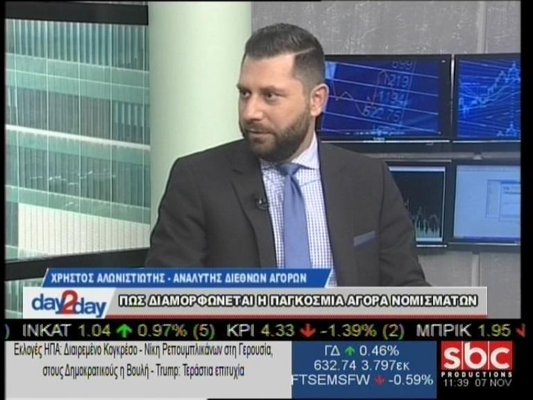 """Ο Χρήστος Αλωνιστιώτης στο """"day2day""""(20/12/2018) με τον Ανέστη Ντόκα"""