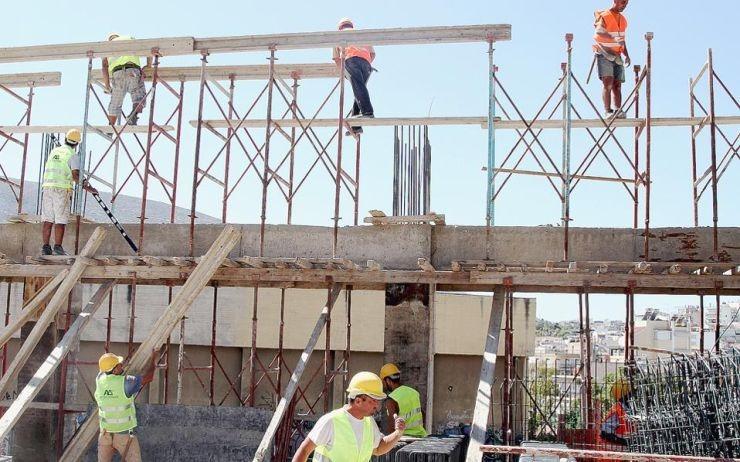Αύξηση 21,3% στον όγκο της οικοδομικής δραστηριότητας το 2018
