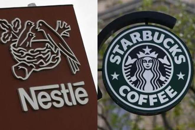 Nestle: Συνεργασία με τα Starbucks για διανομή των συσκευασμένων προϊόντων