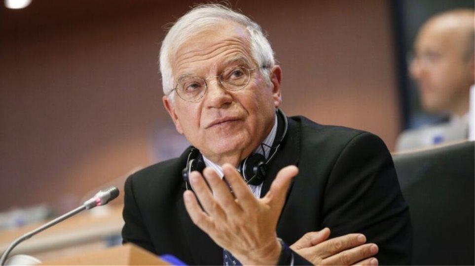 Μπορέλ: Η κατάσταση στην αν. Μεσόγειο χειροτερεύει- Ανησυχούμε για την κλιμάκωση από την Τουρκία