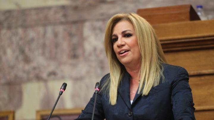 Φ. Γεννηματά: Αδιανόητο να μην υπάρχει εθνικό μέτωπο κι εθνική γραμμή απέναντι στη Τουρκία