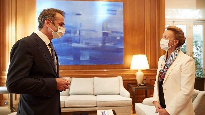 Συνάντηση Μητσοτάκη-Πεϊτσίνοβιτς – Συζήτησαν για την ελληνική Προεδρία στο Συμβούλιο της Ευρώπης
